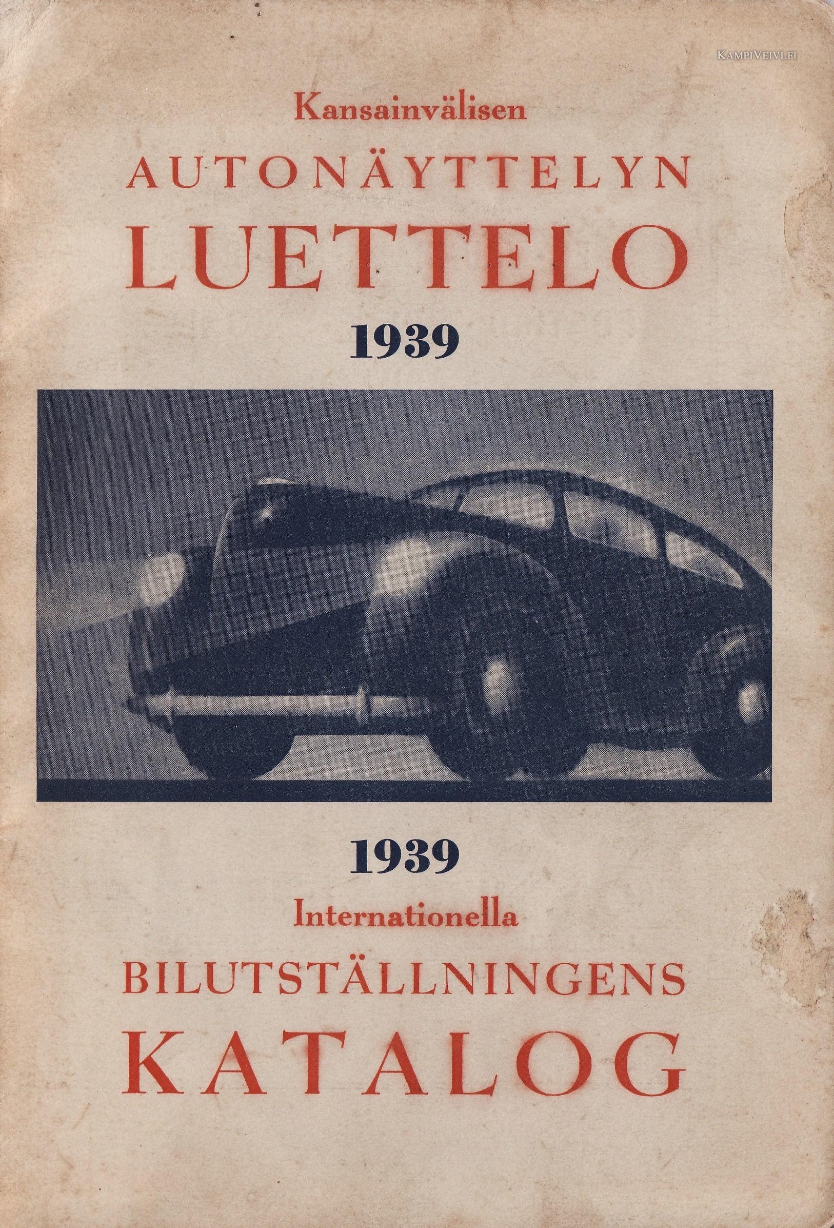 1939 autonäyttely 1