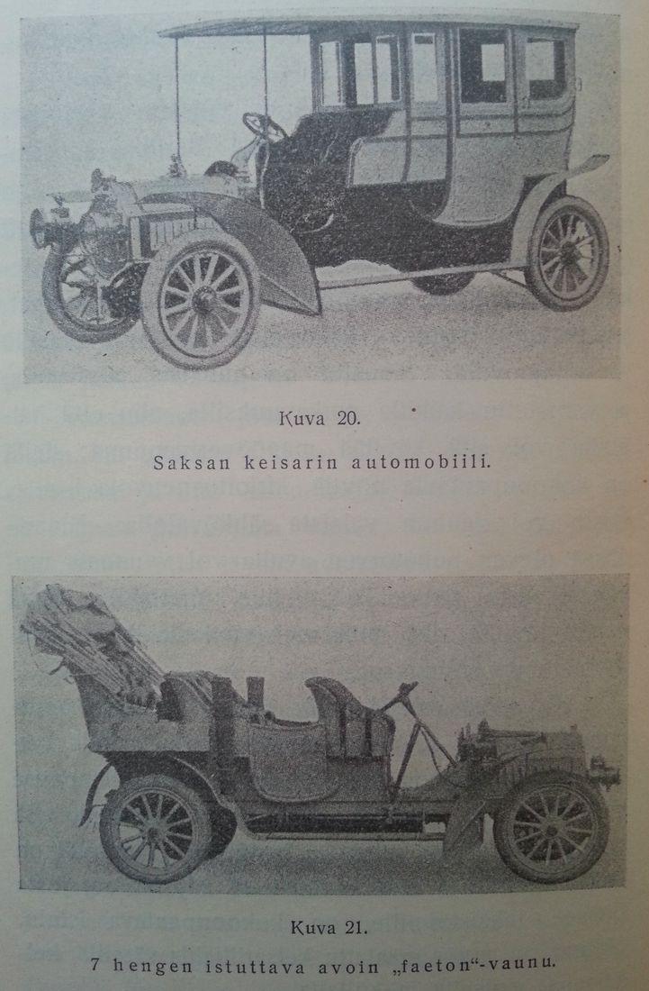 Saksan keisarin automobiili