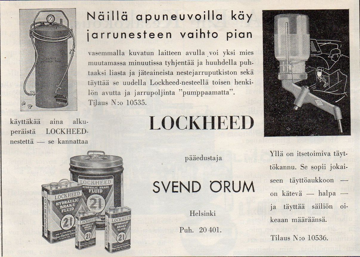 Lockheed -jarrunesteet