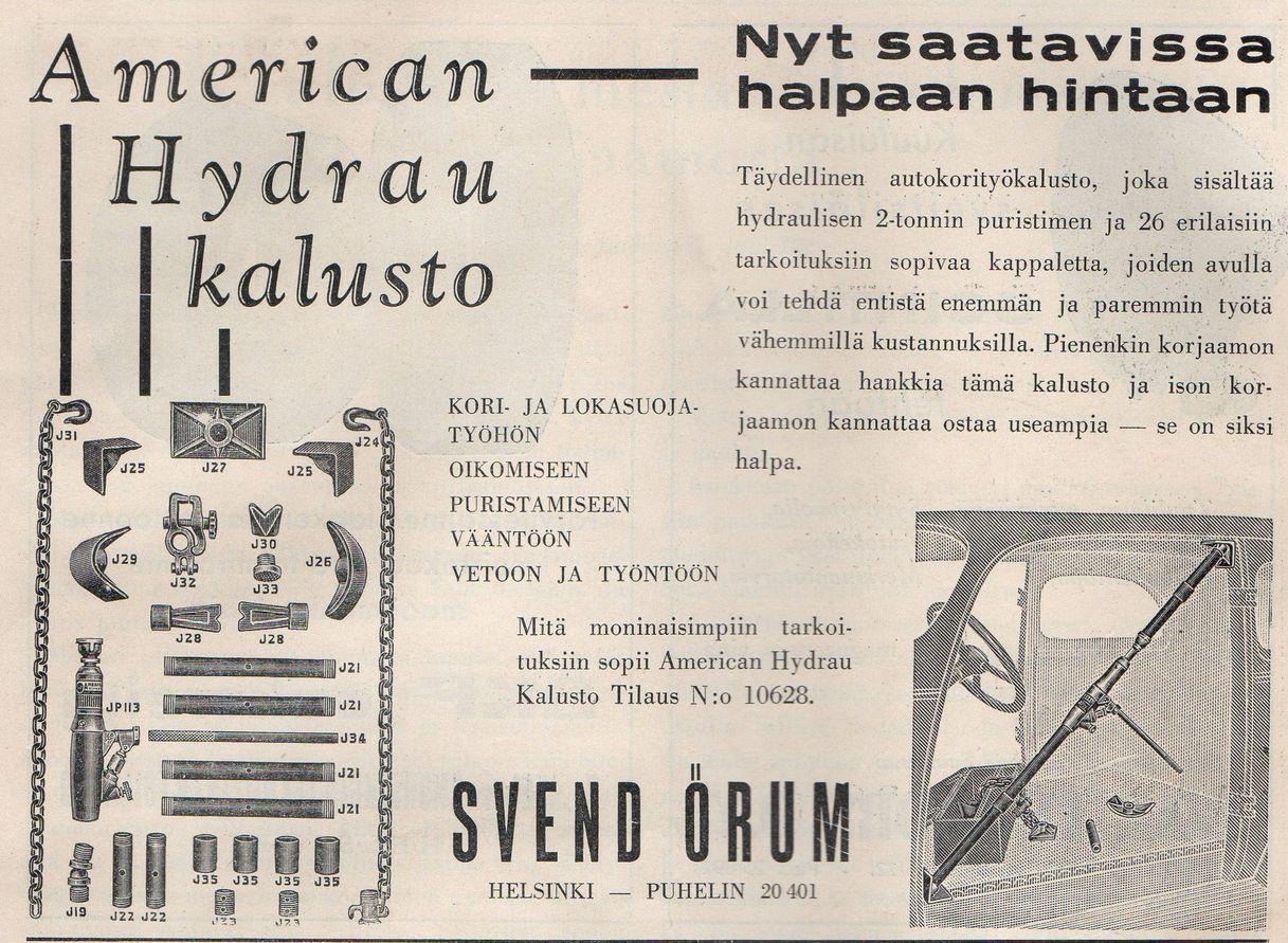 American Hydrau -korinoikaisusarja